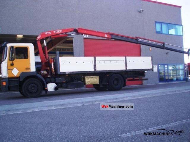 1996 MAN F 2000 19.343 FLLC Truck over 7.5t Truck-mounted crane photo