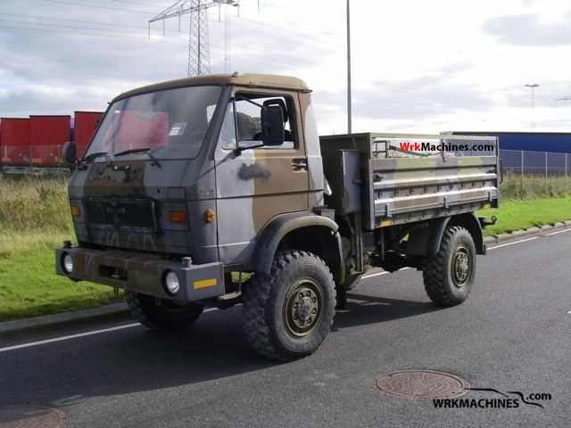 1985 MAN G 8.136 FAE Truck over 7.5t Stake body photo