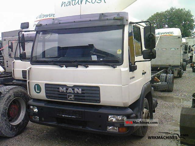 2003 MAN L 2000 220 Truck over 7.5t Chassis photo