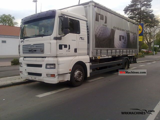 2001 MAN TGA 18.360 Truck over 7.5t Swap chassis photo