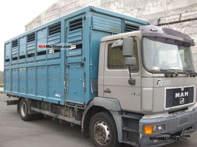 1996 MAN F 2000 19.293 Truck over 7.5t Horses photo