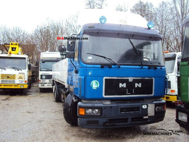 1997 MAN F 2000 26.403 Truck over 7.5t Truck-mounted crane photo