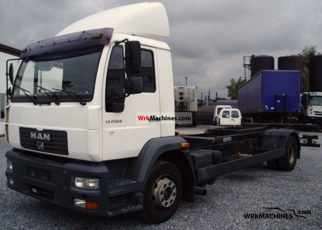 2002 MAN M 2000 L 14.255 Truck over 7.5t Swap chassis photo
