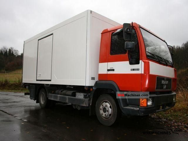 2000 MAN M 2000 L 12.224 Truck over 7.5t Refrigerator body photo