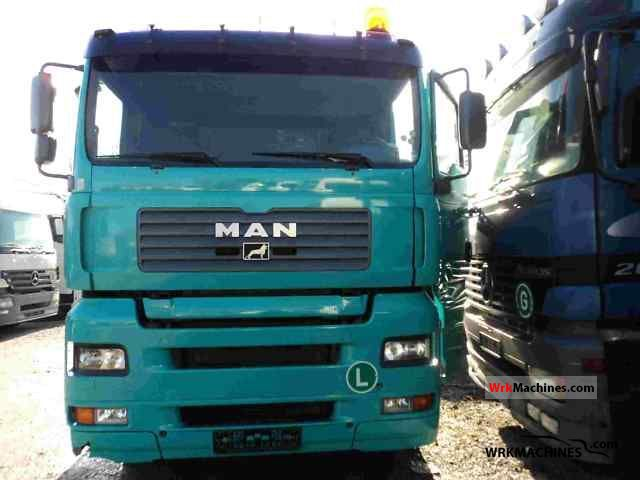 2001 MAN TGA 18.310 Truck over 7.5t Swap chassis photo