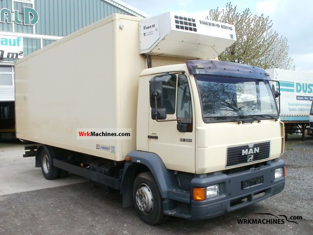 1999 MAN M 2000 L 14.224 Truck over 7.5t Refrigerator body photo