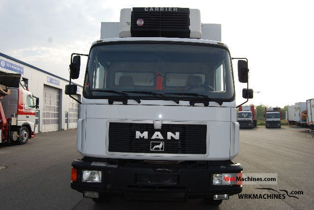 1997 MAN EL 262 Truck over 7.5t Refrigerator body photo