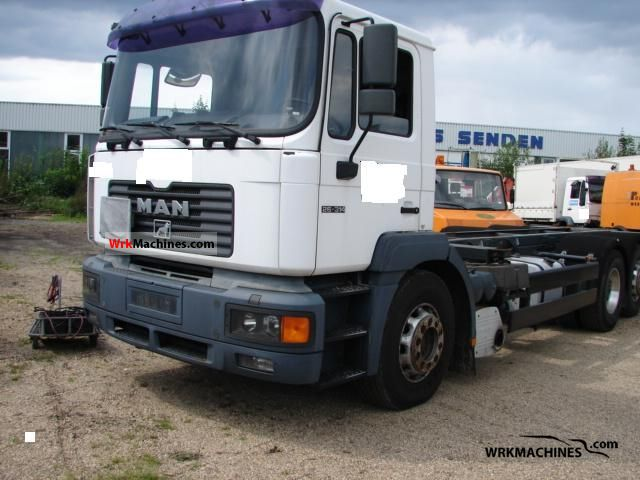2000 MAN NG 263 Truck over 7.5t Swap chassis photo
