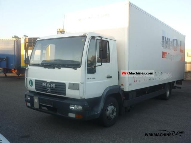 2003 MAN EM 222 Truck over 7.5t Box photo