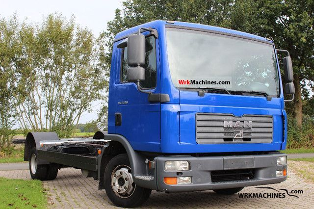 2006 MAN TGL 8.180 Van or truck up to 7.5t Chassis photo