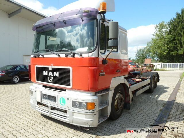 1998 MAN F 2000 26.463 Truck over 7.5t Roll-off tipper photo