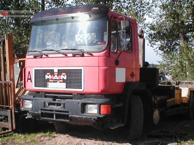 1994 MAN NG 272 Truck over 7.5t Roll-off tipper photo