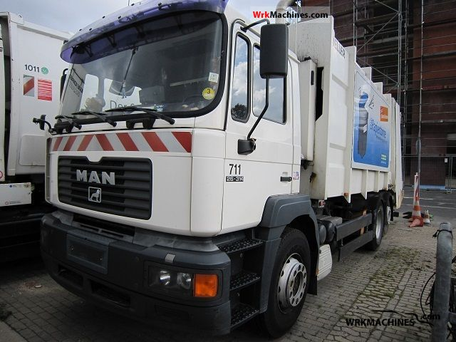 2001 MAN NG 263 Truck over 7.5t Refuse truck photo