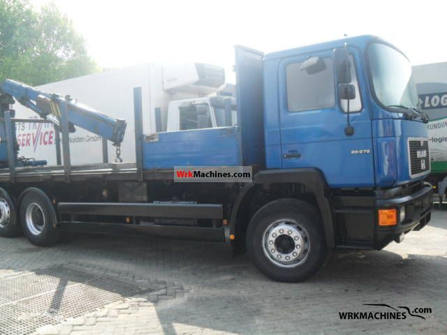 1995 MAN F 2000 26.273 Truck over 7.5t Stake body photo