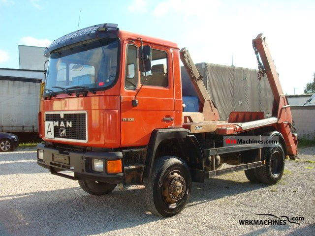 1994 MAN M 90 17.232 Truck over 7.5t Dumper truck photo