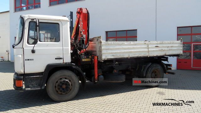 1994 MAN M 90 18.232 Truck over 7.5t Tipper photo