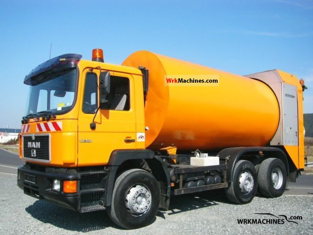 1996 MAN F 2000 26.343 Truck over 7.5t Refuse truck photo