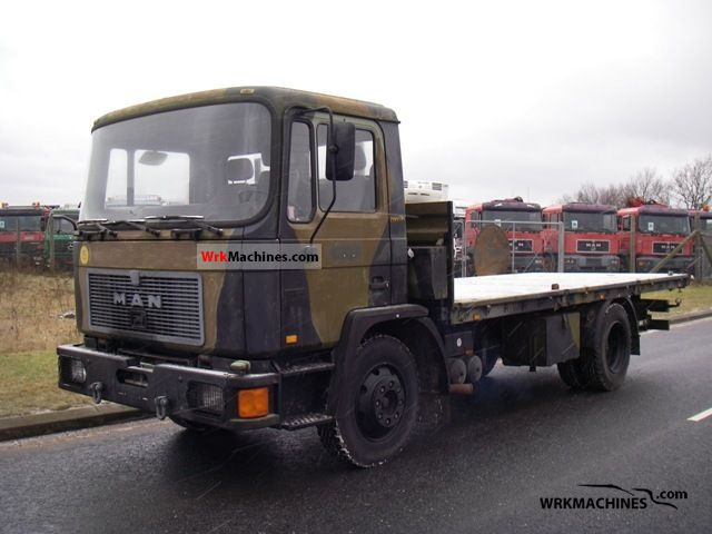 1993 MAN EM 192 Truck over 7.5t Other trucks over 7,5t photo