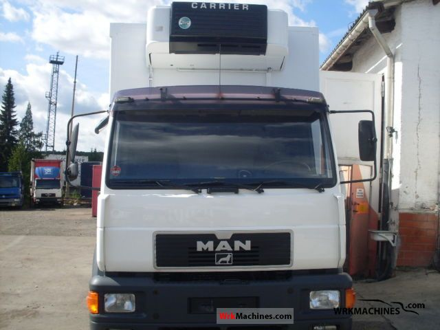 2000 MAN M 2000 L 14.224 Truck over 7.5t Refrigerator body photo
