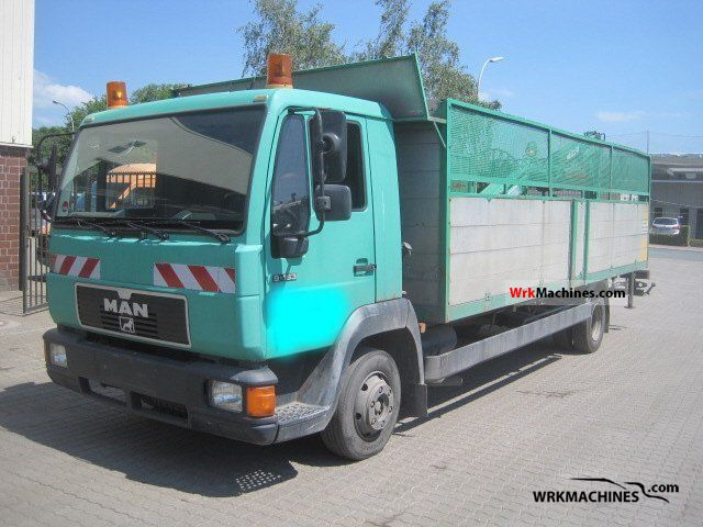1997 MAN L 2000 9.163 Truck over 7.5t Stake body photo