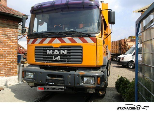 2001 MAN TGA 26.310 Truck over 7.5t Refuse truck photo