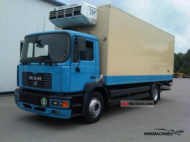 2000 MAN M 2000 L 18.284 Truck over 7.5t Refrigerator body photo