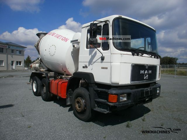 1993 MAN F 90 24.322 Truck over 7.5t Cement mixer photo