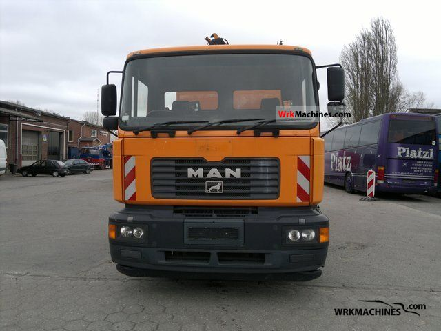 2004 MAN TGA 26.310 Truck over 7.5t Refuse truck photo