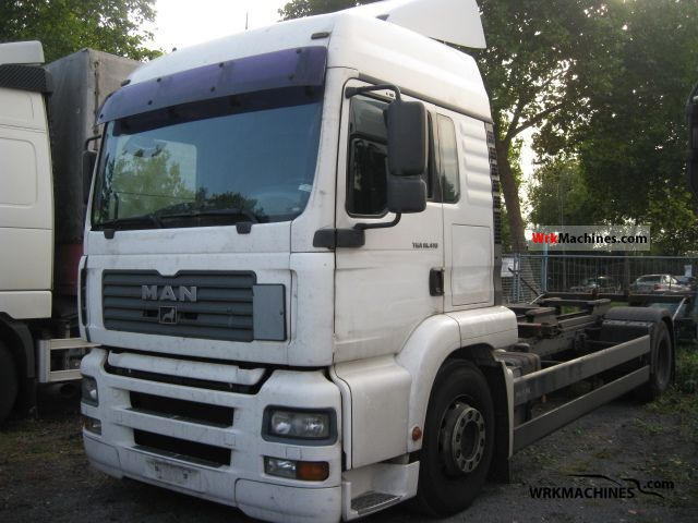 2004 MAN TGA 18.410 Truck over 7.5t Swap chassis photo