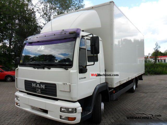 2003 MAN L 2000 10.185 Truck over 7.5t Box photo