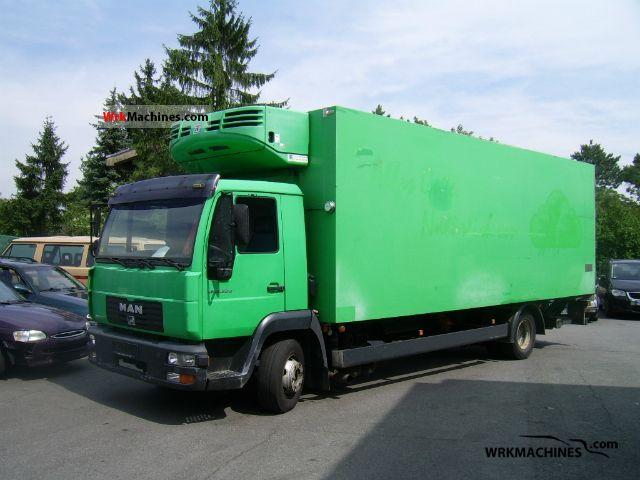 2003 MAN EM 222 Truck over 7.5t Refrigerator body photo