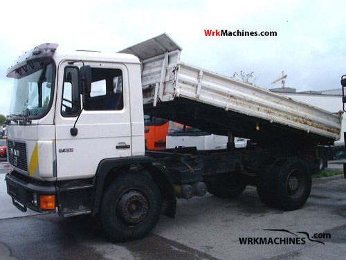 1989 MAN M 90 17.232 Truck over 7.5t Three-sided Tipper photo