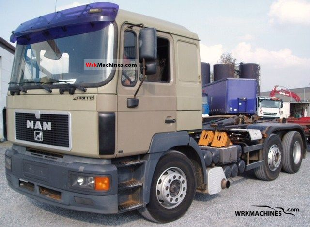 1999 MAN F 2000 26.463 Truck over 7.5t Roll-off tipper photo
