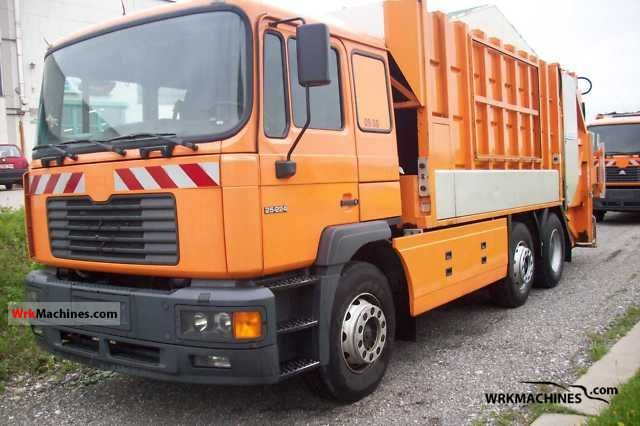 1999 MAN M 2000 M 25.224 Truck over 7.5t Refuse truck photo