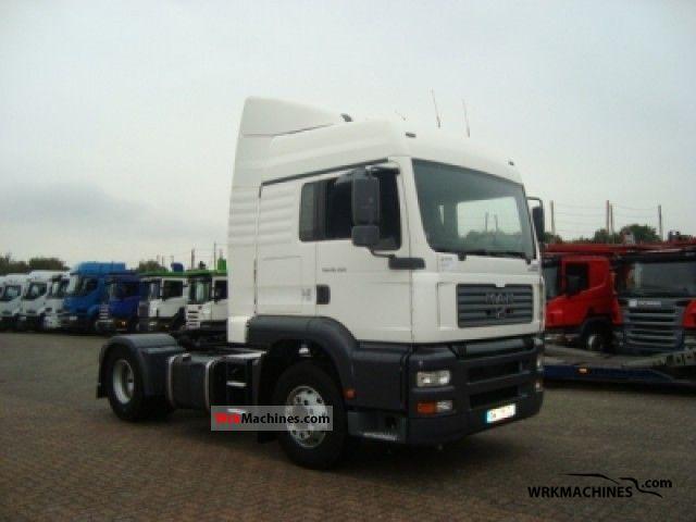 2004 MAN TGA 18.350 Semi-trailer truck Standard tractor/trailer unit photo