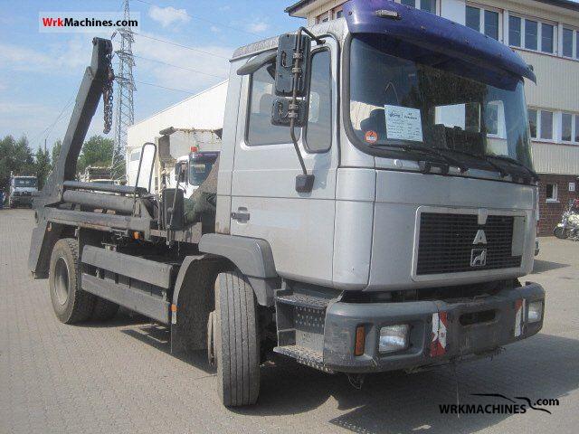 1999 MAN EL 262 Truck over 7.5t Dumper truck photo