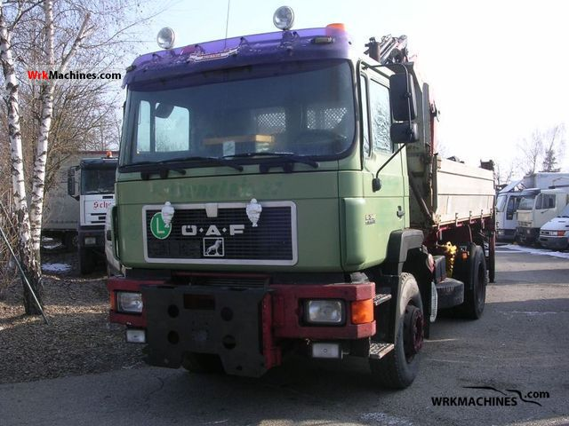 1995 MAN F 90 19.342 Truck over 7.5t Three-sided Tipper photo