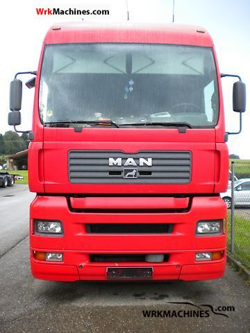 2004 MAN TGA 24.410 Truck over 7.5t Swap chassis photo