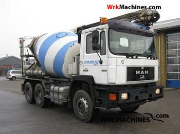1996 MAN F 90 26.322 Truck over 7.5t Cement mixer photo