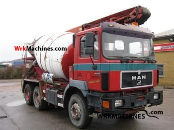 1996 MAN F 2000 26.343 Truck over 7.5t Cement mixer photo