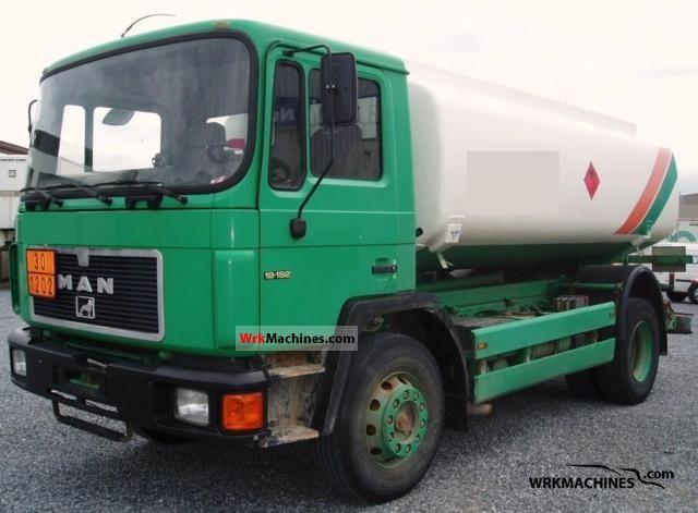 1994 MAN M 90 18.192 Truck over 7.5t Tank truck photo