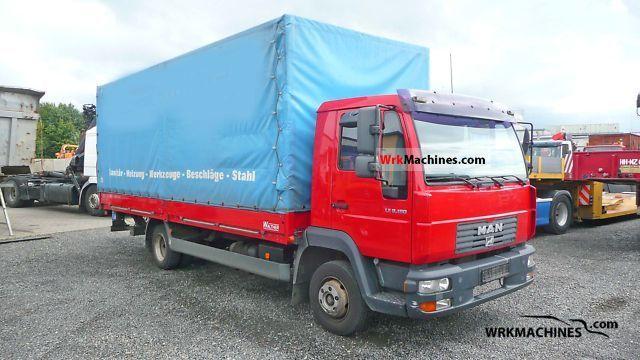 2005 MAN TGL 8.180 Truck over 7.5t Stake body and tarpaulin photo