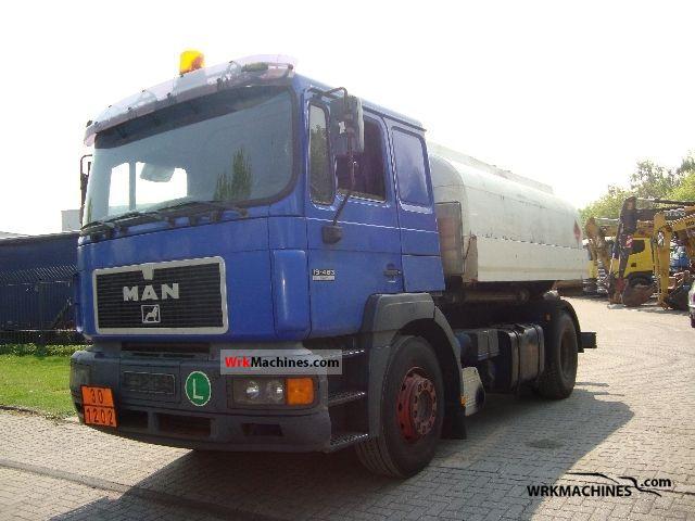 1998 MAN F 2000 19.463 Truck over 7.5t Tank truck photo