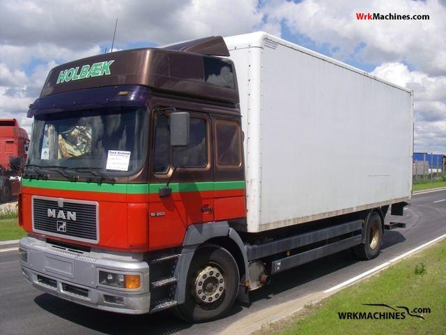 1996 MAN F 2000 19.293 Truck over 7.5t Box photo