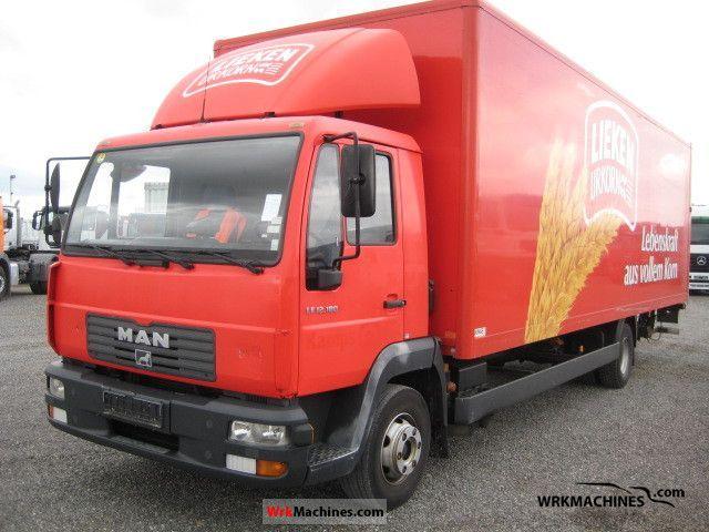 2004 MAN L 2000 12.185 Truck over 7.5t Box photo