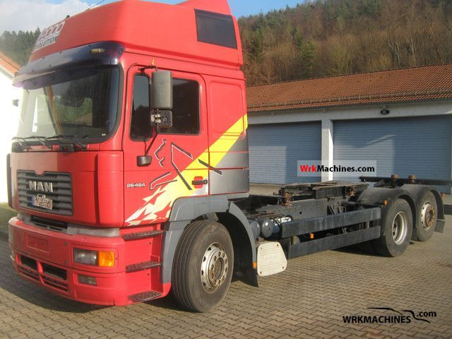 2000 MAN LION´S STAR 464 Truck over 7.5t Swap chassis photo