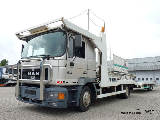 1997 MAN M 2000 L 14.264 Truck over 7.5t Car carrier photo
