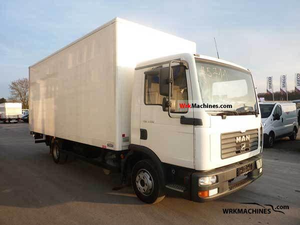 2006 MAN TGL 7.150 Van or truck up to 7.5t Box photo