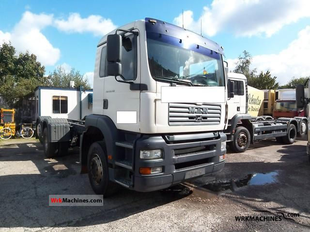 2004 MAN TGA 26.410 Truck over 7.5t Chassis photo