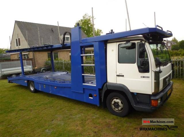 2000 MAN M 2000 L 12.224 Truck over 7.5t Car carrier photo
